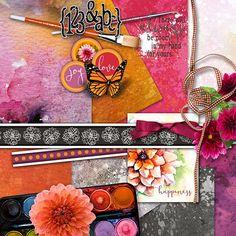 Club Scrap Digital - Dahlia Digital Kit #5403