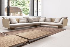 Outdoor Sectional Sofa in New Furniture Collection of Paola Lenti  try a dyi