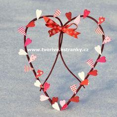 Věneček srdíčko Valentine Crafts, Band, Accessories, Jewelry, Sash, Jewlery, Jewerly, Schmuck, Jewels
