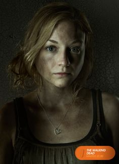 "Emily Kinney es ""Beth Greene"". The Walking Dead - Martes 22.00 #TWD3ENFOX #TerrorEnFOX www.canalfox.com/thewalkingdead"