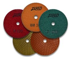 Zered 4 in. D-Series Polishing Pad Wholesale Diamonds, Tools And Equipment, Stone Polishing, 3 D, Metal, Metals