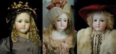 Antique French Fashion  Dolls
