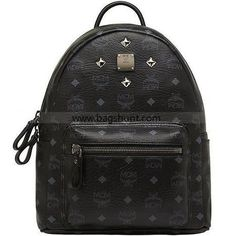 MCM 12AW Stark Small BackPack Black 2016 Buy Now - $184.00 | cheap bags uk…