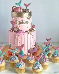 Unique and Beautiful Wedding Cake Decoration Ideas to Inspire You - HomeLoveIn - Little Mermaid Cakes, Safari Cakes, Wedding Cake Decorations, Just Cakes, Colorful Cakes, Beautiful Wedding Cakes, Drip Cakes, Buttercream Cake, Cake Creations