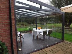 If one looks along the explanation associated with a sunroom, it without a doubt will show you that it is a green-house. Dream Home Design, House Design, Garden Room Extensions, Outdoor Rooms, Outdoor Decor, Porch Area, Glass Room, Side Yards, Outdoor Kitchen Design