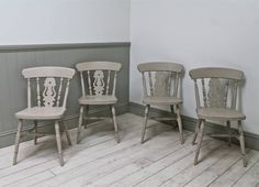 Are you interested in our farmhouse pine chairs ? With our vintage antique kitchen chairs you need look no further.
