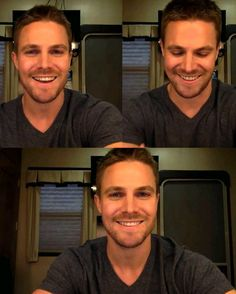 I love his face, his smile, everything!! #StephenAmell #arrow