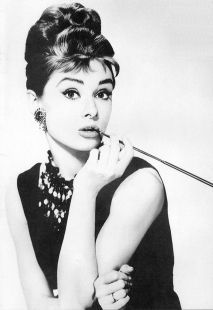 Glamour Girl 1960s Audrey Hepburn