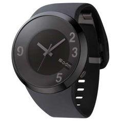 Reloj ODM 60sec caja de policarbonato negro y correa de silicona negra. http://www.tutunca.es/reloj-60sec-negro