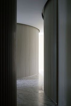 Yabu Pushelberg: The Opus, Hong Kong: Interior Work, Interior Exterior, Interior Architecture, Interior Design, Curved Walls, Textured Walls, Yabu Pushelberg, Wall Treatments, Wall Design