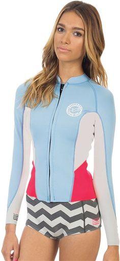 BILLABONG 2MM PEEKY JACKET > Gear > Wetsuits > Womens Wetsuits | Swell.com