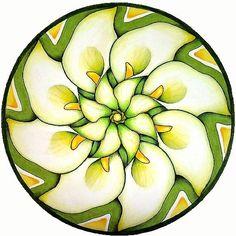 Lily Mandala by hollizollinger on Etsy, via Etsy.