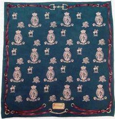 St. Patrick's Day RARE Green Ralph Lauren RLL horse equestrian Kentucky Derby silk scarf St. Patty's Day www.lechicdame.com