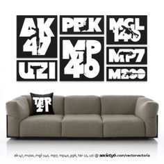 Have gun - Will travel... The original firearms collection now also available as stretched canvases and throw pillows @ http://society6.com/vectorvectoria