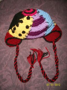 Items similar to Nightmare Before Christmas Sally Inspired Crochet Beanie on Etsy Crochet Cap, Crochet Beanie, Cute Crochet, Crochet Crafts, Yarn Crafts, Sewing Crafts, Yarn Projects, Crochet Projects, Crochet Baby Costumes