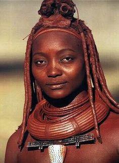 A Jurubeba Cultural:  ● Gente... do planeta. (Etnia Himba, Angola).