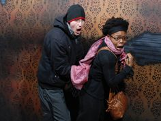 What's wrong? Monsters aren't real... right? www.nightmaresfearfactory.com #NFF #nightmares #fear #factory #niagarafalls #niagara #haunted #house #scary #couple #reaction #funny #photo #haunt #FEARpic #cliftonhill #attraction #fun #things #to #do