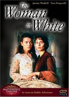 The Woman in White TV 1997 - Based upon Wilkie Collins Victorian mystery, the gothic tale tells of a pair of half sisters whose lives end up caught in a grand conspiracy revolving around a mentally ill woman dressed in white. As the story unfolds, murder, love, marriage, and greed stand between the two women and happy lives. Their only hope is the secret the woman in white waits to tell them.