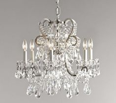 Crystal Chandeliers, this one would go with anything...
