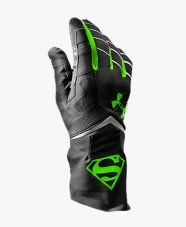 Men's Under Armour® Alter Ego Superman Highlight Football Gloves Volleyball Gear, Soccer Gear, Football Gear, Football Gloves, Football Boys, Football Cleats, Football Things, Football Stuff, Baseball
