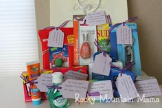 I made a Honeymoon Survival Kit in the past for a good friend of mine. I was recently invited to a bridal shower and decided to make another Honeymoon Survival Kit for her gift. I wanted to reserve...