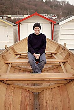 Boatbuilder Gail MCGarva of Lyme Regis awarded Medal for service to Heritage crafts and Clinker Boats Building.  ©SWMHS and Jonathan Seagrave 2011