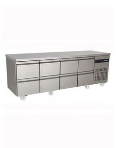 Inomak PN2222-ECO Refrigerated 1/1 GN Counter with Drawers