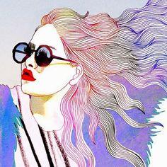 ilustrações femininas tumblr - Pesquisa Google