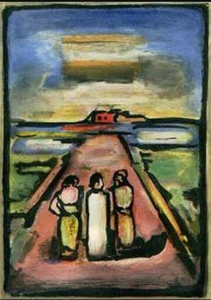 Camino del Calvario Autor: Georges Roualt