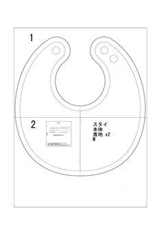 82b3b125a79f4 「まんまるスタイ」の無料型紙と作り方です。 簡単にできますので、ぜひお試しください。 ママの手作りなら赤ちゃん…