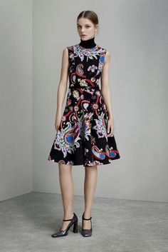 See the complete Mary Katrantzou Pre-Fall 2015 collection.
