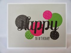 A Little Bit of Everything Me: Clean & Simple 3 - Inlaid Die Cuts birthday card