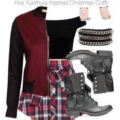 Teen Wolf - Kira Yukimura Inspired Christmas Outfit by staystronng on Polyvore featuring polyvore, fashion, style, Forever New, American Rag Cie, Kate Spade, Christmas, tw and Kirayukimura