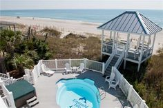 Featured Property of The Week – 1 Tickled Pink. 1 Tickled Pink is a three-story home that has impeccable beach views with an elevator for easy access to a glimpse of the ocean from every floor. With 8 bedrooms and 10 ½ baths, there is plenty of room for everyone to spread out and get cozy. Read more!