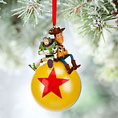 Disney Pixar Toy Story Buzz Lightyear and Woody Sketchbook Ornament (as of 8/17/2015)