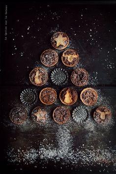 tartelettes aux noix de pécan et au sirop d'érable (pâte sablée à la cannelle)