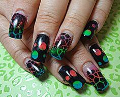Neon Fade by dcgroves - Nail Art Gallery nailartgallery.nailsmag.com by Nails Magazine www.nailsmag.com #nailart