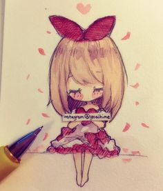 a little Valentines Day doodle~ sorry I've been so busy lately QWQ #doodle…