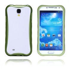 Alu Edge (Grön) Samsung Galaxy S4 Aluminium-Bumper