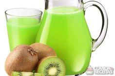 Receita de Suco de kiwi com água de coco