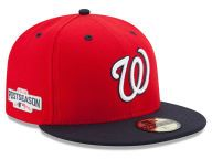 Buy Washington Nationals MLB 2016 Post Season Authentic Collection Patch 59FIFTY Cap Fitted Hats and other Washington Nationals New Era products at NewEraCap.com