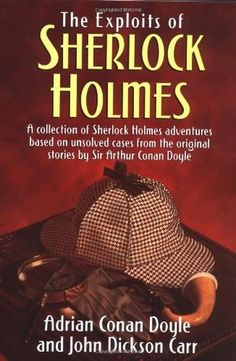 "FREE BOOK ""The Exploits of Sherlock Holmes by Adrian Conan Doyle""  story english no registration français format pocket german"