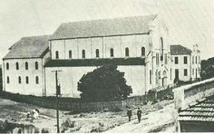 Igreja das Mercês , sem  a torre , em 1929