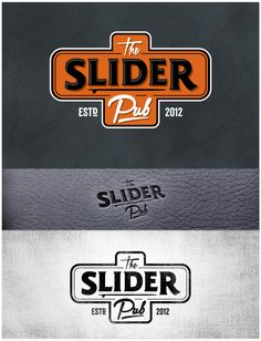 The Slider Pub logo design by predragorn