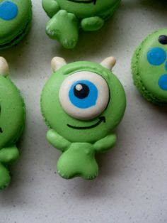 Monsters en Co macarons