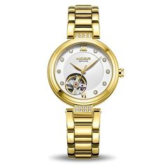 The sophisticated Diamond luxury automatic watch with sapphire crystal is an exclusive MEGIR watch. A stylish stainless steel strap with case thickness. Stylish Watches, Luxury Watches For Men, Cool Watches, Casual Watches, Swiss Army Watches, Seiko Watches, Automatic Watch, Quartz Watch, Fashion Watches