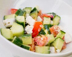 Greek Cucumber Salad Recipe | The Daily Meal