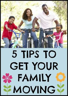 Try these tips to make physical activity a daily part of your family's life.