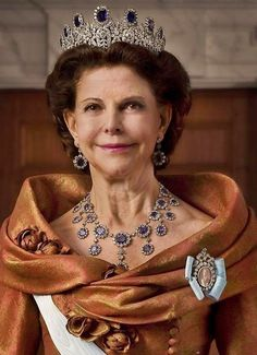 Royal Tiaras, Tiaras And Crowns, Royal Diamond, Queen Of Sweden, Adele, Royal Families Of Europe, Royal Jewelry, Jewellery, Swedish Royalty