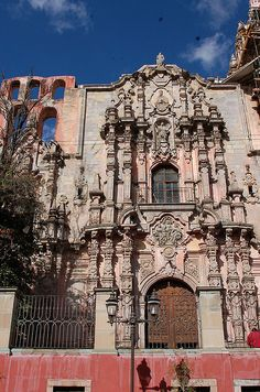 Iglesia de la Compañía, Guanajuato, Mexico, The spiral of creation is feminine, therefore. we all living life forms come from the heart of the goddess in us, beauty and creation are my motives for being, find here my own art work and great artists 4 life, go green and self-sufficient with renewable energies that cost no money, http://ninaohmanarts.com
